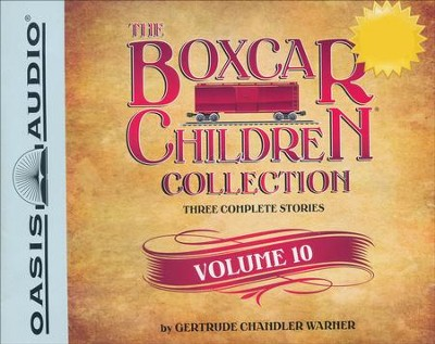 The Boxcar Children Collection Volume 10: The Mystery Girl, The Mystery Cruise, The Disappearing Friend Mystery - unabridged audiobook on CD  -     By: Gertrude Chandler Warner