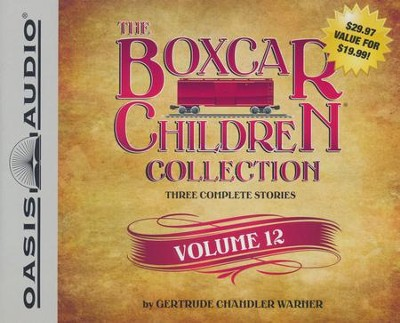 The Boxcar Children Collection Volume 12: The Mystery Horse, The Mystery at the Dog Show, The Castle Mystery - unabridged audiobook on CD  -     By: Gertrude Chandler Warner