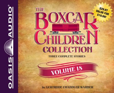 The Boxcar Children Collection Volume 18: The Mystery of the Lost Mine, The Guide Dog Mystery, The Hurricane Mystery - unabridged audiobook on CD  -     By: Gertrude Chandler Warner