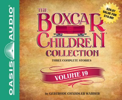 The Boxcar Children Collection Volume 19                       -     Narrated By: Tim Gregory, Aimee Lilly     By: Gertrude Chandler Warner