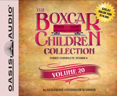 The Boxcar Children Collection Volume 20: The Mystery at the Alamo, The Outer Space Mystery, The Soccer Mystery - unabridged audiobook on CD  -     By: Gertrude Chandler Warner