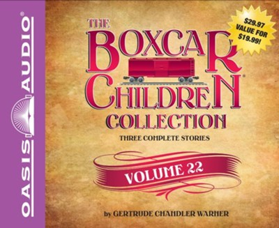 The Boxcar Children Collection Volume 22: The Black Pearl Mystery, The Cereal Box Mystery, The Panther Mystery - unabridged audio book on CD  -     By: Gertrude Chandler Warner