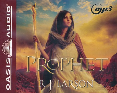 #1: Prophet Unabridged Audiobook on MP3-CD   -     Narrated By: Brooke Sanford Heldman     By: R.J. Larson