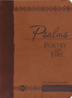 Psalms Poetry on Fire: Devotional Footnotes - eBook  -     By: Brian Simmons