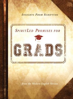 SpiritLed Promises for Grads: Insights from Scripture from the Modern English Version - eBook  -     By: Passio