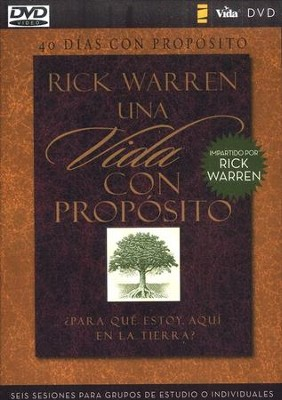 40 d&#237as con prop&#243sito , Purpose Driven Life DVD  -     By: Rick Warren