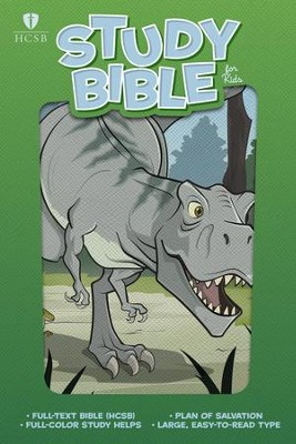 HCSB Study Bible for Kids, Dinosaur - eBook  -