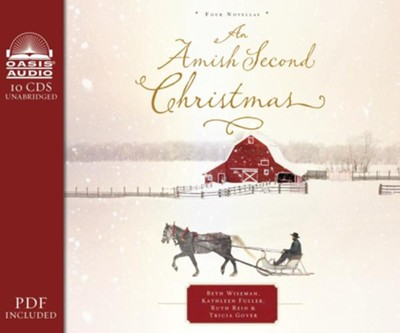An Amish Second Christmas- unabridged audiobook on CD  -     Narrated By: Rebecca Gallagher     By: Beth Wiseman, Kathleen Fuller, Ruth Reid