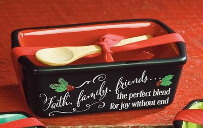 Faith, Family, Friends Loaf Pan  -