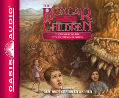 The Mystery of the Stolen Dinosaur Bones - unabridged audio book on CD  -     Narrated By: Tim Gregory     By: Gertrude Chandler Warner