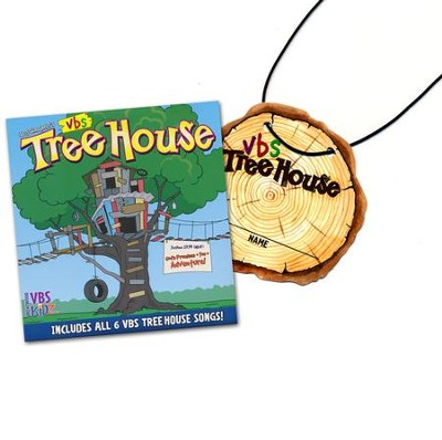 TreeHouse Name Badge/Lanyard/CD Sets, pack of 10   -