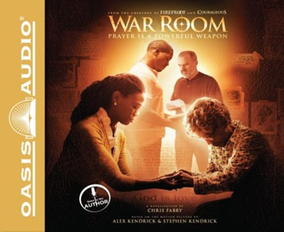 War Room - unabridged audio book on CD  -     By: Chris Fabry