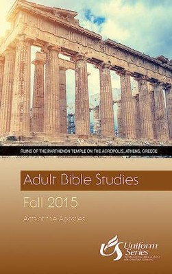 Adult Bible Studies Fall 2015 Student - Large Print - eBook  -     By: William Carter