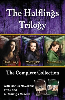 The Halflings Trilogy: The Complete Collection - eBook  -     By: Heather Burch