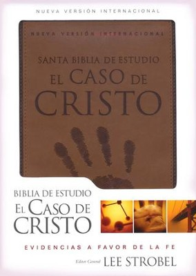 Biblia de Estudio el Caso de Cristo NVI, Piel Italiana Duo Tone  (NVI Case for Christ Study Bible, Italian Leather Duo Tone)  -     By: Lee Strobel