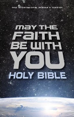 NIrV May the Faith Be with You Holy Bible, Hardcover  -