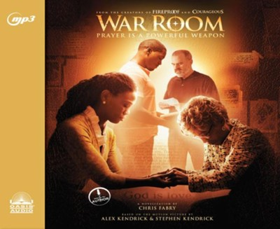 War Room - unabridged audio book on MP3-CD  -     By: Chris Fabry