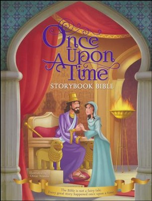 Once Upon a Time Storybook Bible  -     Illustrated By: Omar Aranda
