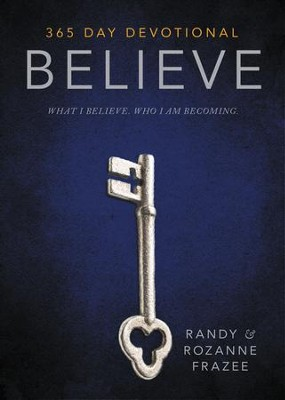 Believe Devotional - eBook  -     By: Zondervan