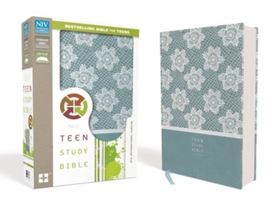 NIV Teen Study Bible, Imitation Leather, Light Blue/Blue  -     By: Lawrence Richards, Sue Richards