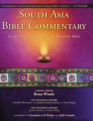South Asia Bible Commentary: A One-Volume Commentary on the Whole Bible - eBook  -     Edited By: Brian Wintle, Havilah Dharamraj, Jesudason Baskar Jeyaraj