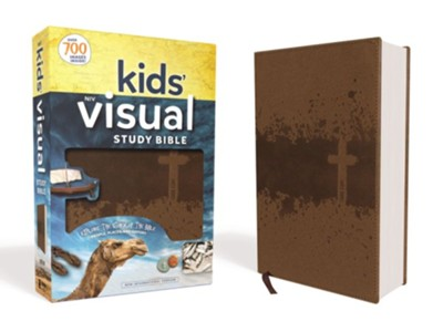 NIV Kids' Visual Study Bible, Imitation Leather, Bronze  -