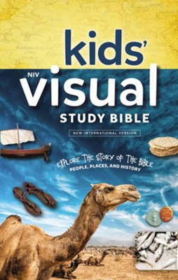 NIV Kids' Visual Study Bible, Hardcover  -
