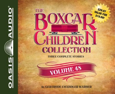 The Boxcar Children Collection Volume 48: The Celebrity Cat Caper, Hidden in the Haunted School, The Election Day Dilemma - unabridged audio book on CD  -     By: Gertrude Chandler Warner