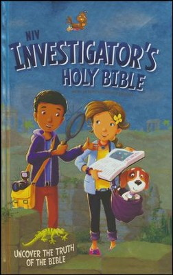NIV Investigator's Holy Bible-Hardcover  - Slightly Imperfect  -