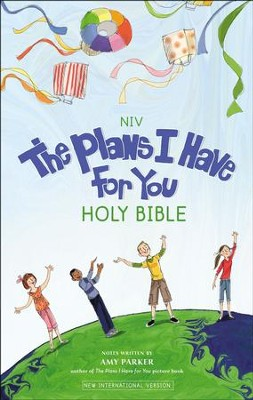 NIV The Plans I Have for You Holy Bible-Hardcover   -     By: Amy Parker