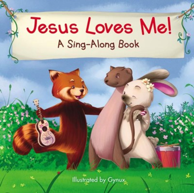 Jesus Loves Me, A Sing-Along Book   -     By: Illustrated by Ginux    Illustrated By: Ginux
