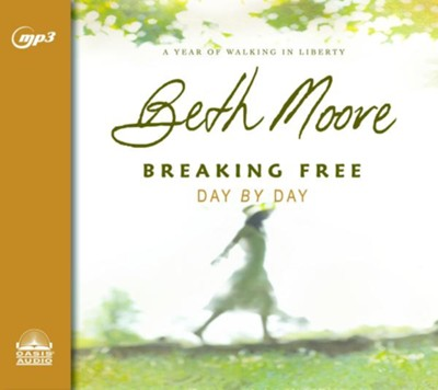 Breaking Free Day by Day: A Year of Walking in Liberty - unabridged audio book on MP3-CD  -     By: Beth Moore