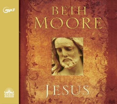 Jesus: 90 Days With the One and Only - unabridged audio book on MP3-CD  -     By: Beth Moore