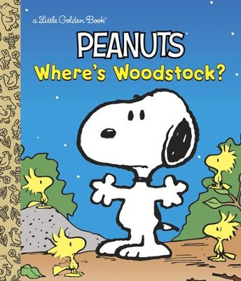 Where's Woodstock? (Peanuts) - eBook  -     By: Margo Lundell     Illustrated By: Golden Books