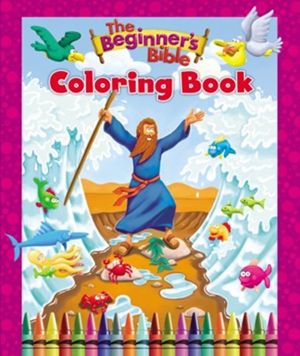 The Beginner's Bible Coloring Book  -     By: Zondervan