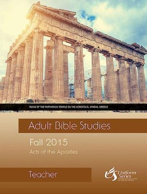 Adult Bible Studies Fall 2015 Teacher - eBook  -     By: Timothy L. Bryan
