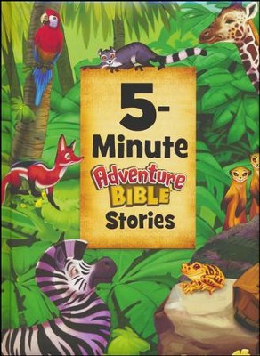 5-Minute Adventure Bible Stories  -     By: Catherine DeVries     Illustrated By: Jim Madsen