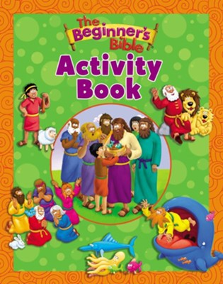 The Beginner's Bible Activity Book  -     By: Zondervan