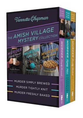 The Amish Village Mystery Collection - eBook  -     By: Vannetta Chapman