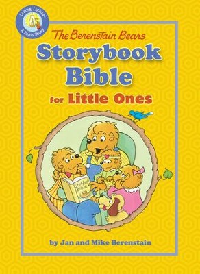 The Berenstain Bears Storybook Bible for Toddlers - eBook  -     By: Jan Berenstain, Mike Berenstain