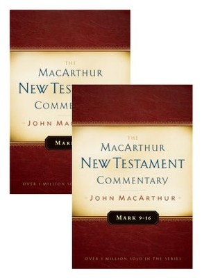 Mark 1-16 MacArthur New Testament Commentary Two Volume Set / Digital original - eBook  -     By: John MacArthur