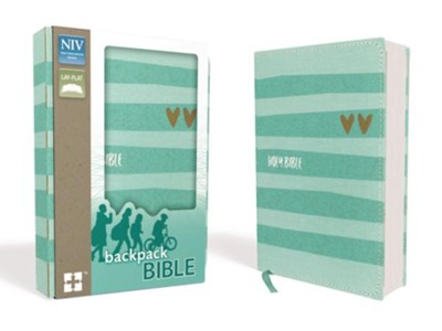 NIV Backpack Bible, Compact, Flexcover  -