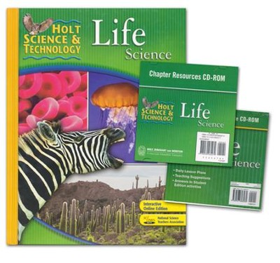 Holt Science & Technology: Life Science Homeschool Package with Parent Guide CD-ROM  -