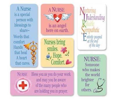 Nurse Magnets, Set of 6  -