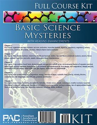 Basic Science Mysteries Full Course Kit   -