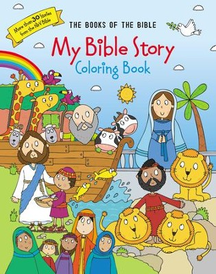 My Bible Story Coloring Book: The Books of the Bible: 9780310761068 ...