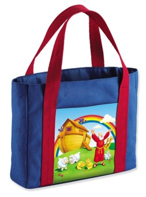 The Beginner's Bible My First Church Bag, Noah's Ark, Medium, Canvas  -