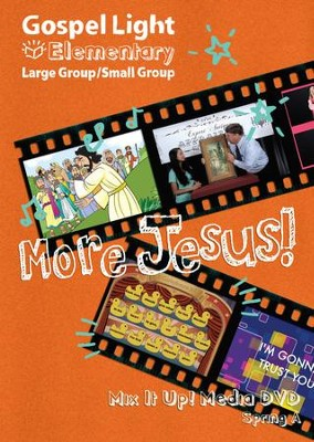 Gospel Light: Elementary Grades 1-4 Large Group 'Mix it Up!' DVD, Spring 2018 Year A  -
