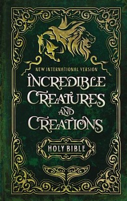 NIV Incredible Creatures and Creations Holy Bible, Hardcover  -