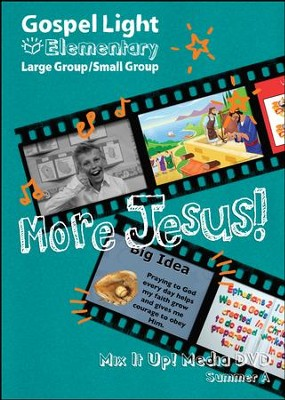 Gospel Light: Elementary Grades 1-4 Large Group Mix It Up! DVD, Summer 2018 Year A  -